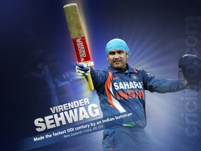 Sehwag Wallpapers 2010