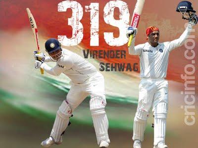 Virender Sehwag Wallpapers 2011